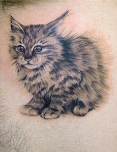 tattoo gato 4