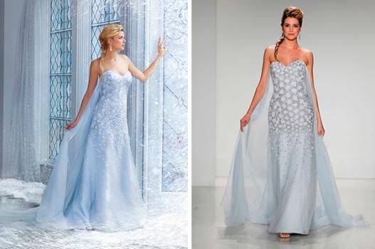 Elsa - Weeding dress
